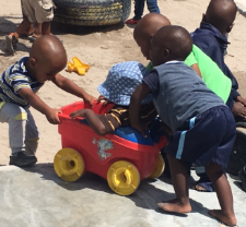 Children Playing in Khayelitsha