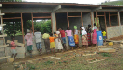 Community Primary School Building in Process