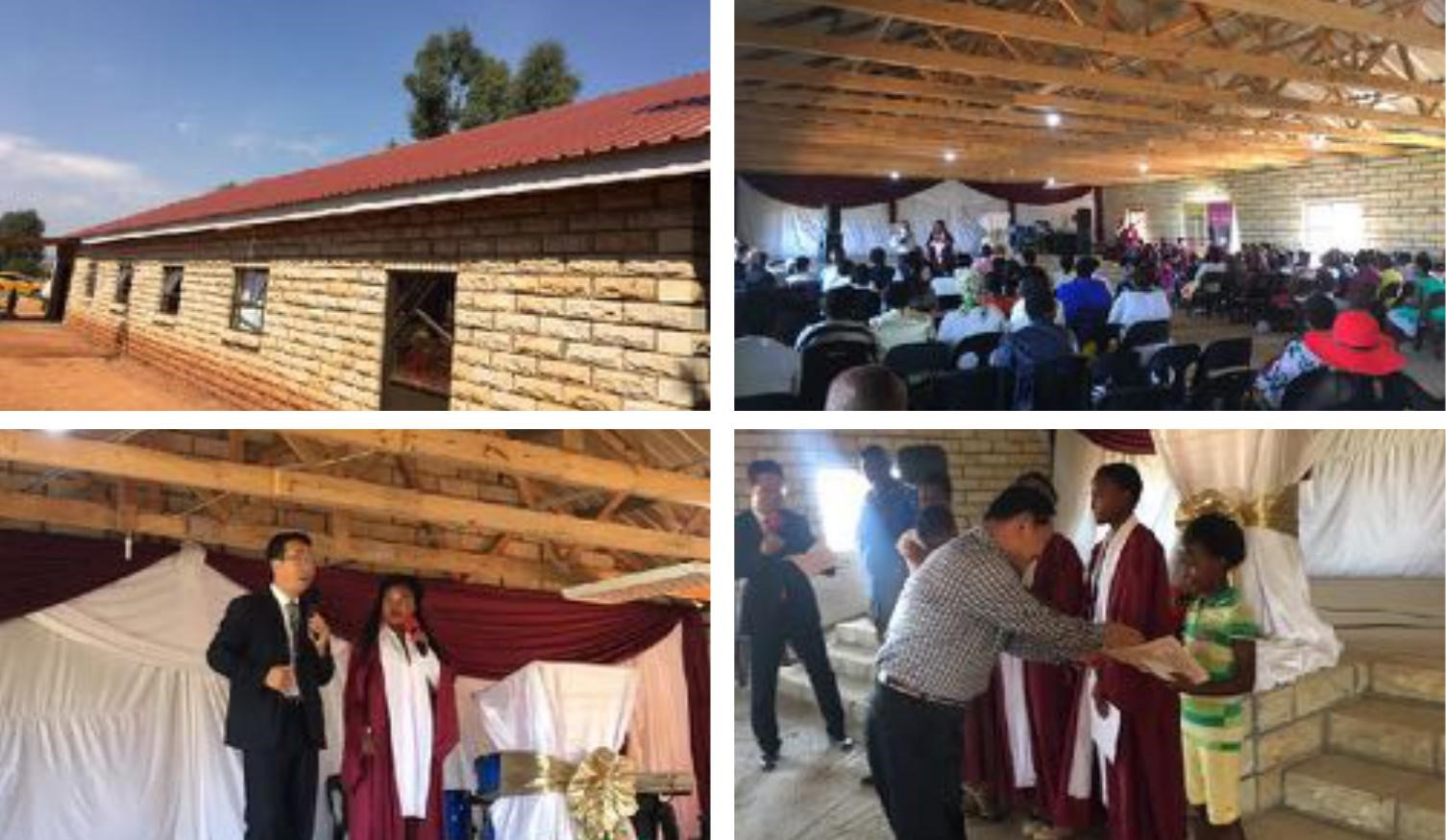 Open Service of Lesotho Church